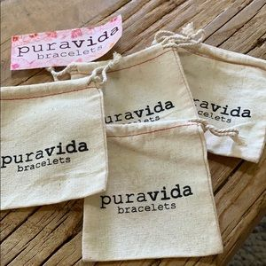 Other - 4 pure vida bracelet bags